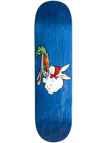 101 Natas Bunny Trap R7 Blue 8.375 Heat Transfer Skateboard Deck