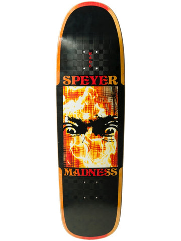"MADNESS Wade Speyer Fire Flannel 9.13"" R7 Skateboard Deck"