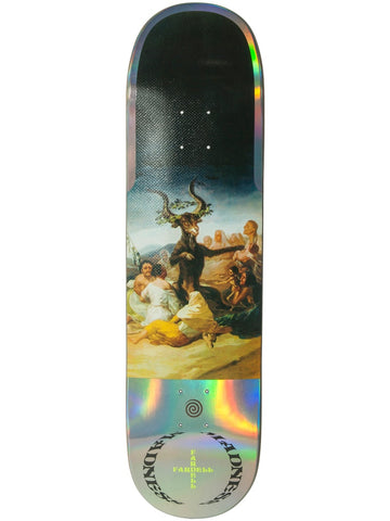 MADNESS Great Goat Fardell  Hologrpahic 8.5 R7 Skateboard Deck