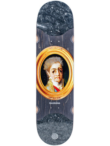 MADNESS Face Melt Black 8.125 RIP SLICK R7 Skateboard Deck
