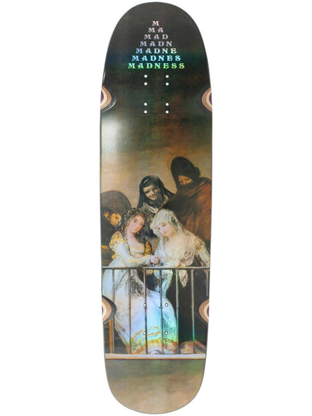 Madness Creeper R7 Holographic 8.5 Skateboard Deck