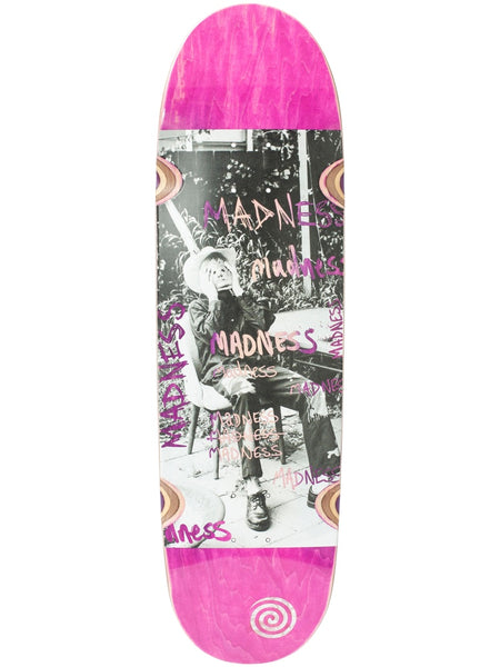 Madness Column R7 Pink 9.0 Skateboard Deck