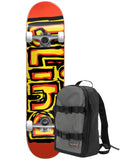 Blind Matte OG Logo Bright Red 7.75 First Push Premium Complete Skateboard w/ Backpack