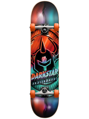 Darkstar  Anodize Youth First Push w/Soft Wheels Multi 7.25 Complete Skateboard