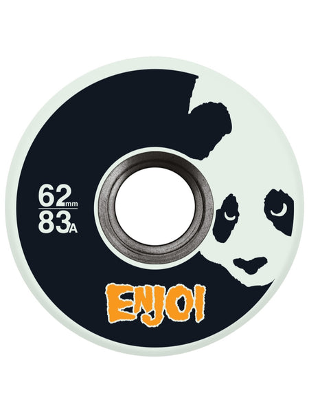 enjoi Astro Panda Glow in the Dark 62mm 83A Wheels