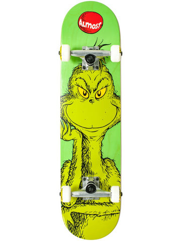 Almost Grinch 7.75 First Push Complete Skateboard
