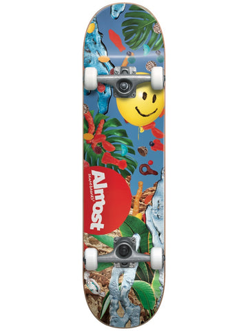 "Almost Twenty20 Multi 8.125"" First Push Complete Skateboard"