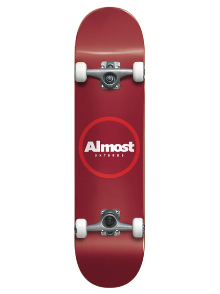 Almost Red Ringer Youth First Push 7.25 Skateboard Complete