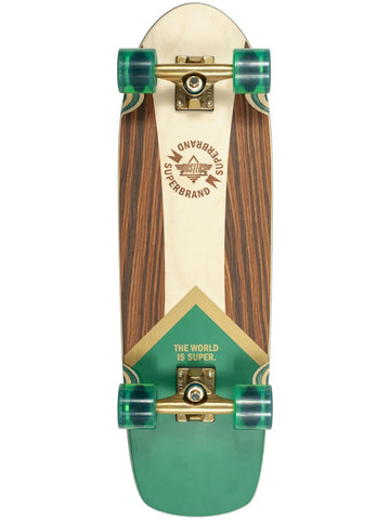 "Dusters Superbrand Retro Green Gold 29.5"" Cruiser"
