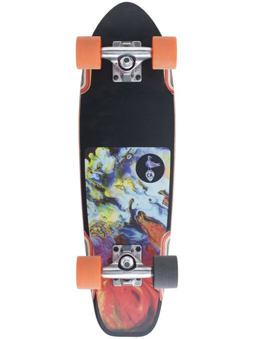 "Dusters Bird Lava Multi 25"" Cruiser Skateboard"