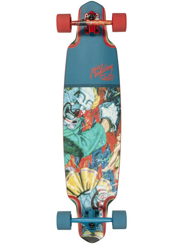 "Dusters Robert Williams x California Locos - Two Fisted Buffoons 38"" Longboard"