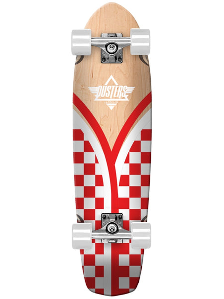 "Dusters Flashback Checker 31"" Cruiser Skateboard"