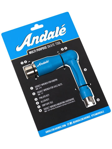 Andale Multi Purpose Blue Skate Tool