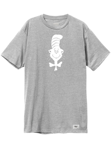 Almost Dr Seuss Simple Cat Athletic Heather S/S Tee