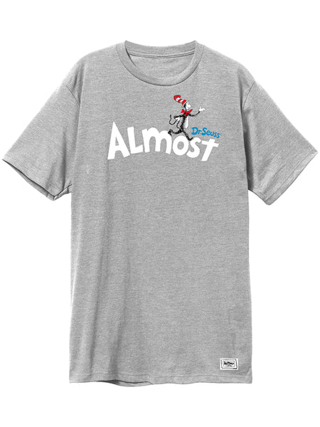 Almost Dr Seuss Almost Athletic Heather S/S Tee