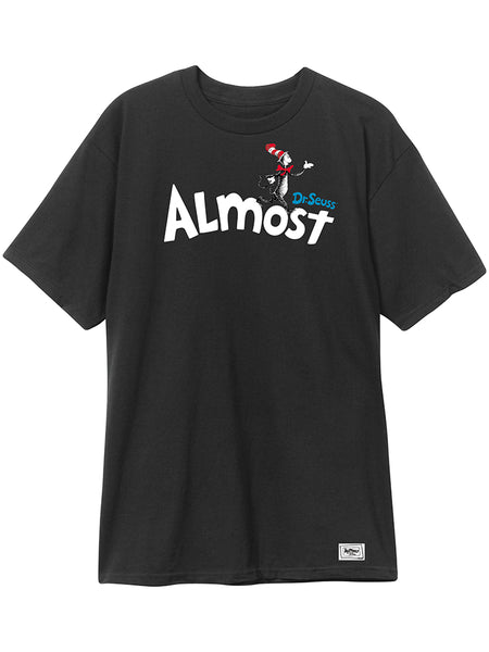 Almost Dr Seuss Almost Black S/S Tee
