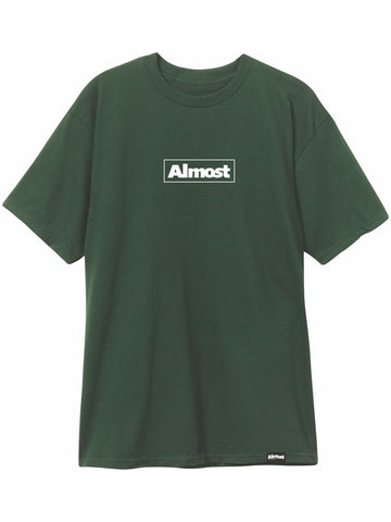 Almost EMB Box Forest Green Premium T-Shirt