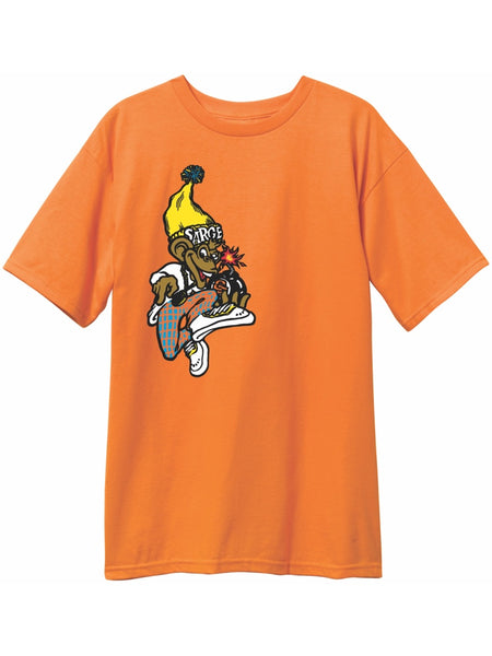 New Deal Sargent Monkey Bomber Orange Short Sleeve