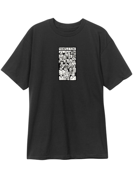 New Deal Ed Crowd Black Price Point Short Sleeve Tee