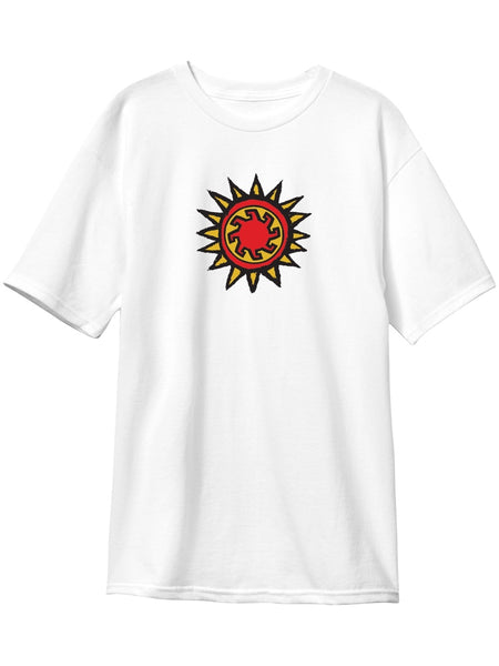 New Deal Vallely Mammoth White Short Sleeve T-Shirt