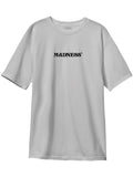 MADNESS Anxiety Silver Short Sleeve T-Shirt
