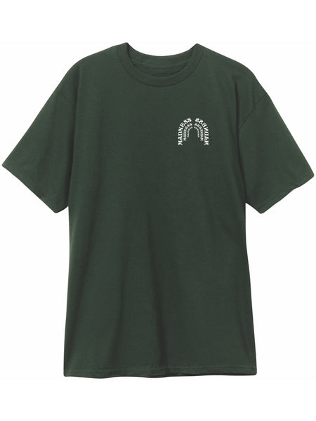 MADNESS OX Tee Forest Green S/S T-Shirt