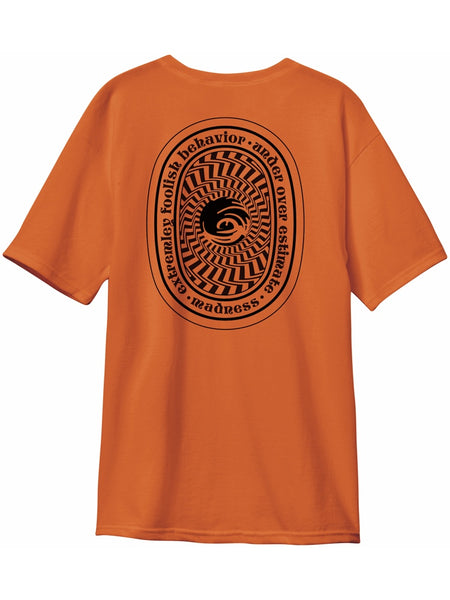 MADNESS Seal Sunset Orange S/S T-Shirt
