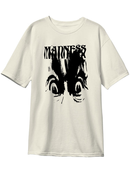 MADNESS Eye Smear Premium Custom Dye Bone White Short Sleeve T-Shirt