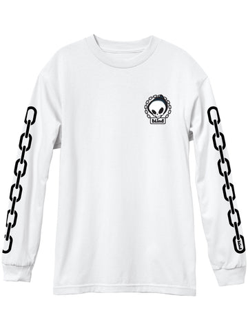 Blind Reaper Chain White Premium Long Sleeve Tee