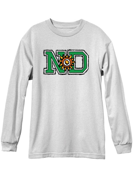 New Deal N*D Ash Long Sleeve Tshirt