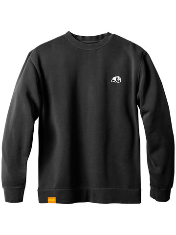 enjoi Panda Patch Black Premium Crew Sweatshirt