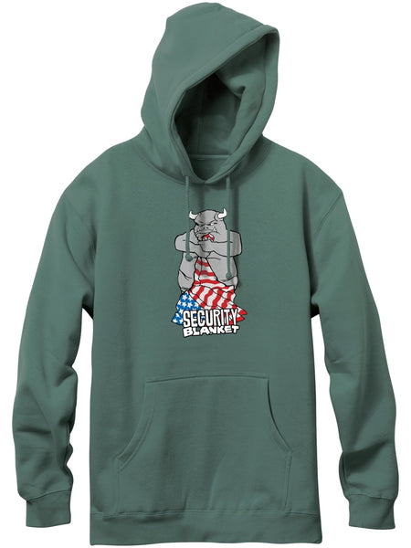 101 Natas Patriot Alpine Green Pullover Hood