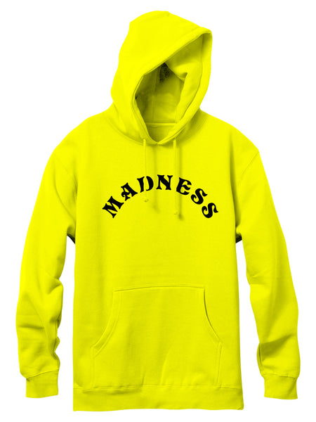 MADNESS Asylum Safety Green Pullover Hoodie