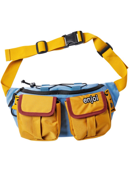 enjoi hip egg bag slate blue fanny pack