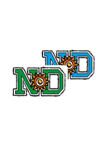 New Deal ND Logo Sticker 10 Pk