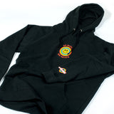 Andale NO HATE WE SKATE Black Pull Over Hoodie