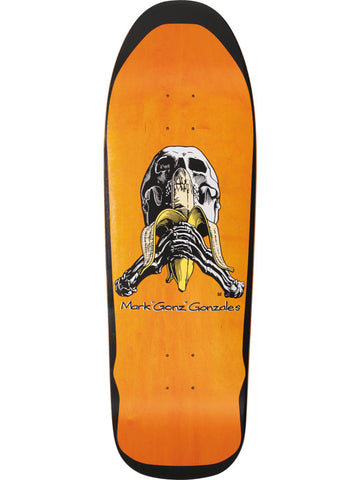 Blind Heritage Mark Gonzales Skull & Banana SILKSCREENED 9.875 Skateboard Deck