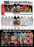 Heritage Reissue Last Supper Smoking Jesus SILKSCREENED 9.875 Skateboard Deck