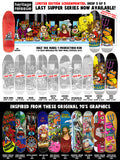 Heritage Reissue Last Supper Mullen Mutt SILKSCREENED Skateboard Deck