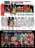 Heritage Reissue Last Supper Devil SILKSCREENED 8.5 Skateboard Deck
