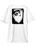MADNESS Mad Eye White Short Sleeve T-Shirt