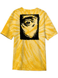 MADNESS Mad Eye Gold Short Sleeve T-Shirt