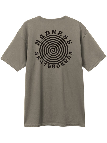 MADNESS Hypnotize Safari Green S/S T-Shirt