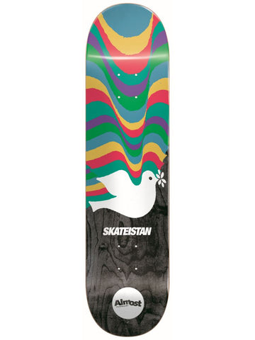 Almost skateboard deck.