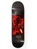 Darkstar Wilson SINGED Throwback 2 Impact Light 8.25 Skateboard Deck