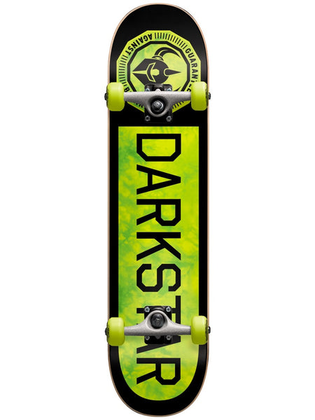 Darkstar Timeworks Neon Green 7.375 First Push Complete Skateboad MID