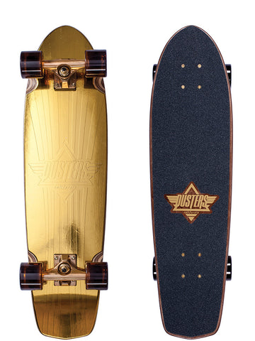 "Dusters Keen Prism Gold 31"" Cruiser Skateboard"