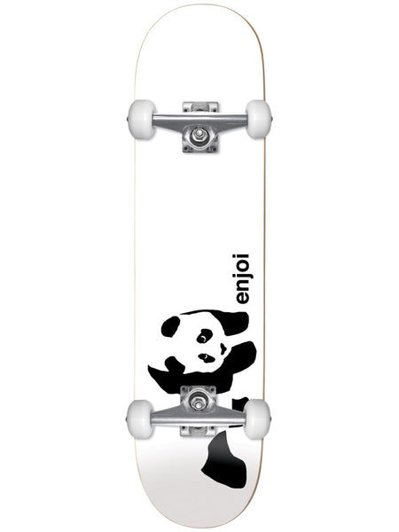 enjoi Whitey Panda 7.75 First Push Complete Skateboard
