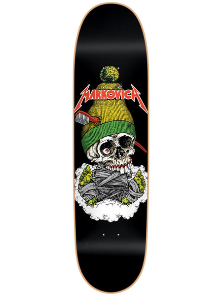 101 Markovich Skull Screen Printed 8.5 R7 Skateboard Deck