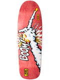 101 Natas Kaupas Challenger Red Screen Printed 9.8 R7 Skateboard Deck